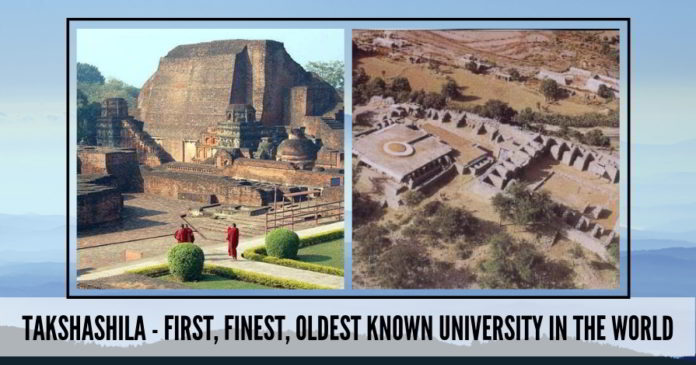 Takshashila : The World's oldest University