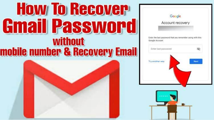 كيفية, إعادة, تعيين, أو, استعادة, كلمة, مرور, الجيميل, Gmail