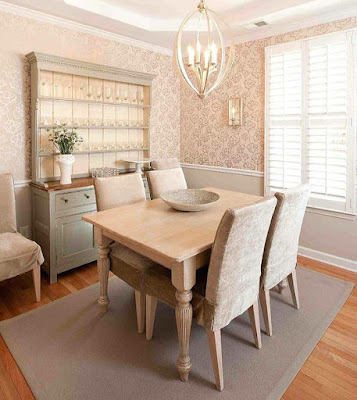 Gray dining room hutch for dining room decorating idea
