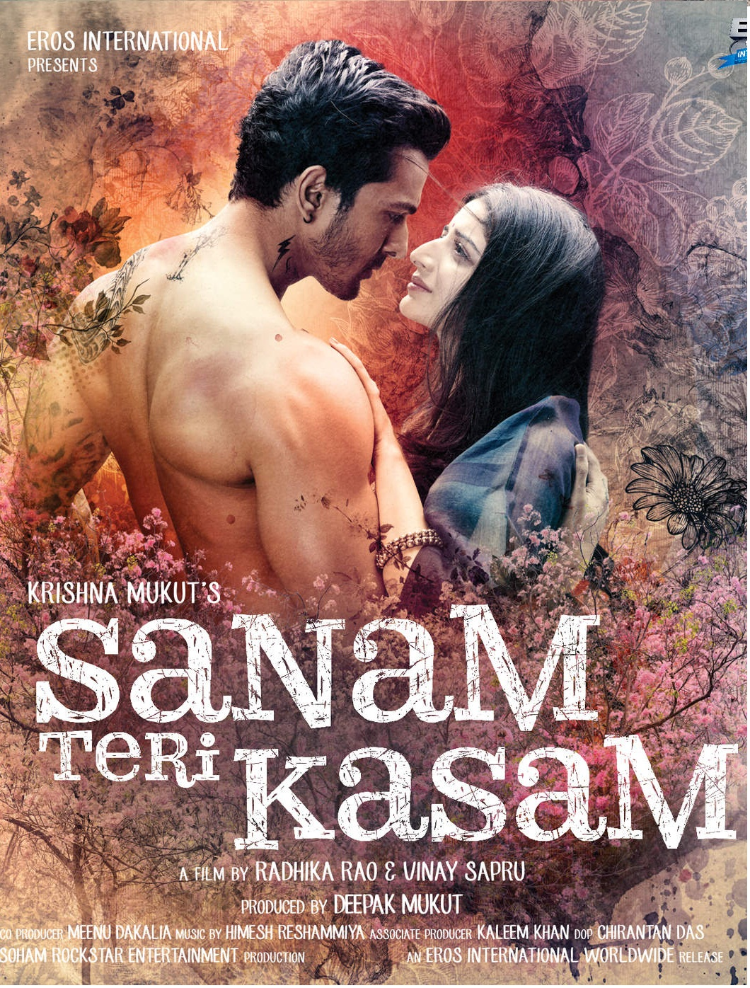 Sanam Teri Kasam (2016) Hindi 720p BluRay 1.3GB ESubs