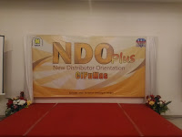 NDO(New Distributor Orientation) NASA CIPUMAS, 28 Januari 2018