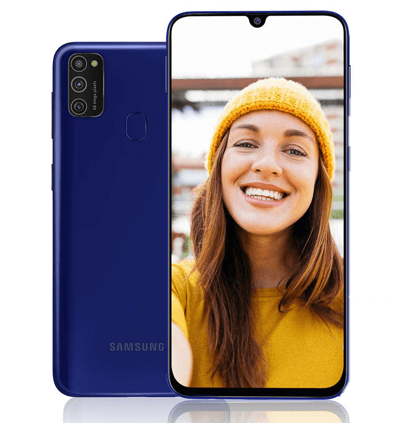 Samsung Galaxy M21 now official with AMOLED screen, 10nm Exynos 9611 chip, 6,000mAh battery, and 48MP triple-cam