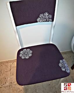 tapizar y pintar una silla
