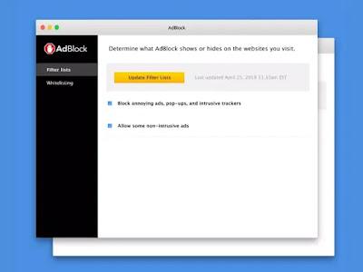 أفضل أدوات منع الإعلانات: AdBlock