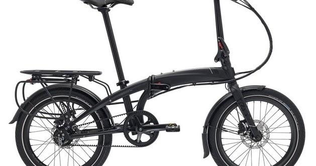 Tern Verge S8i Folding Bike - 2020 Harga Rp. 22.500.000