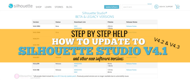 Updating Silhouette Studio Software: A Complete Step By Step