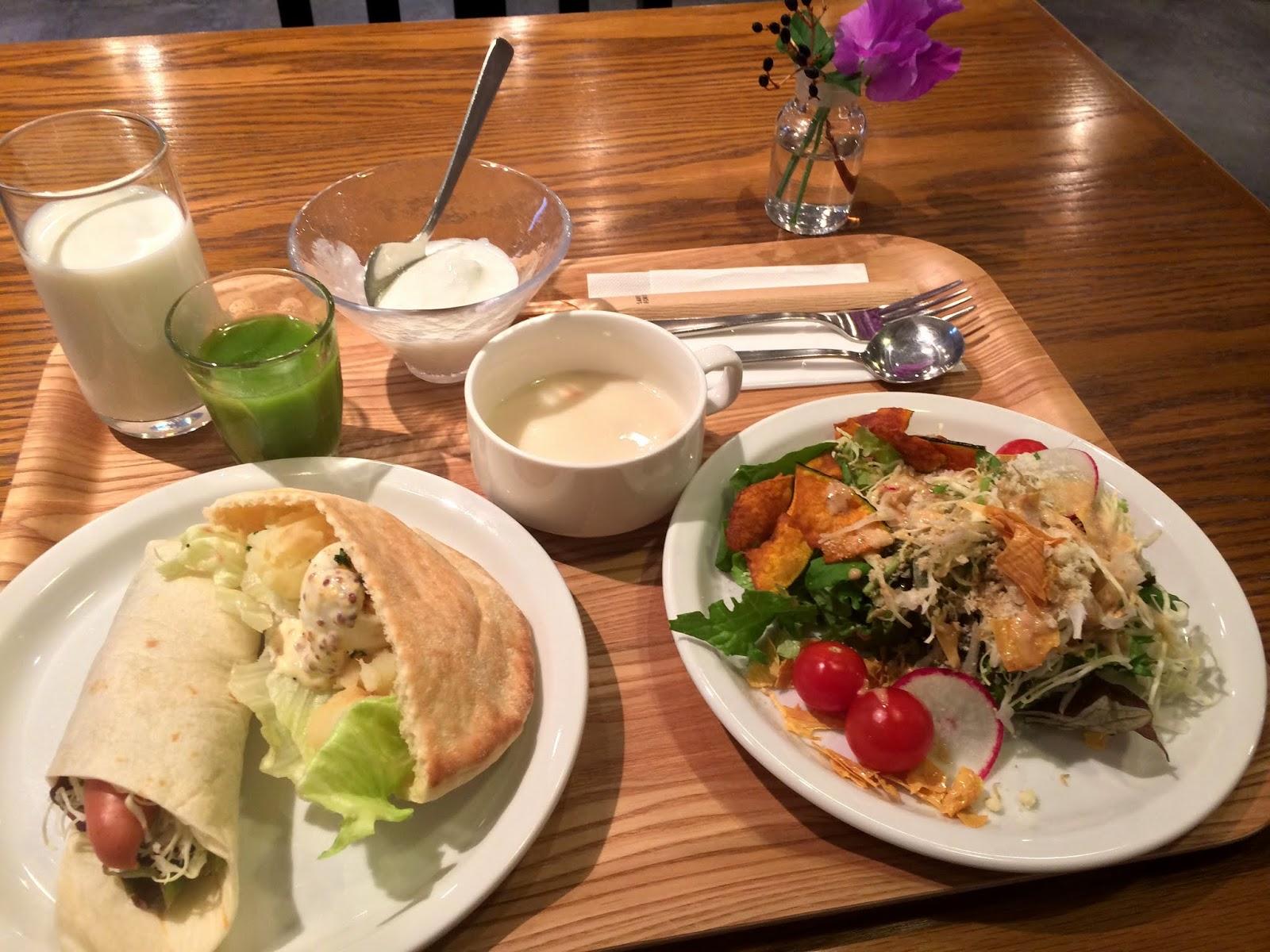 [日本][關西][京都][九條] 吃過最健康美味的酒店早餐:アンテ ...