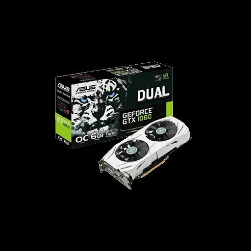 VGA ASUS DUAL-GTX1060-O6G