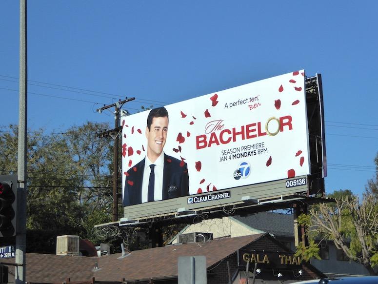 Bachelor season 20 Ben Higgins billboard