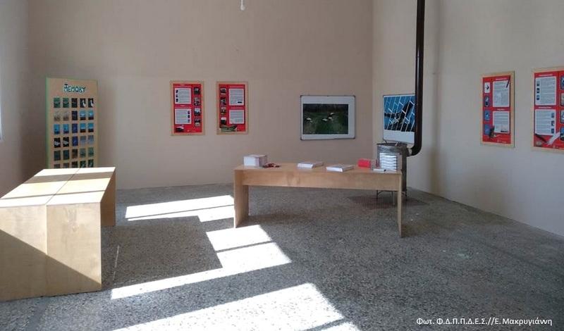 Κέντρο Υποδοχής επισκεπτών για τον Πελαργό στο παλιό Δημοτικό Σχολείο του Πόρου Φερών