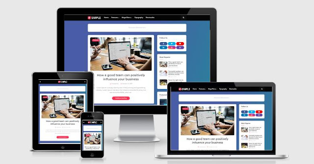 Simple - Responsive Blogger Template