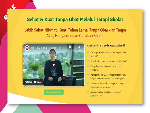 Training Terapi Gerakan Sholat untuk meningkatkan Vitalitas Pria di Tangerang