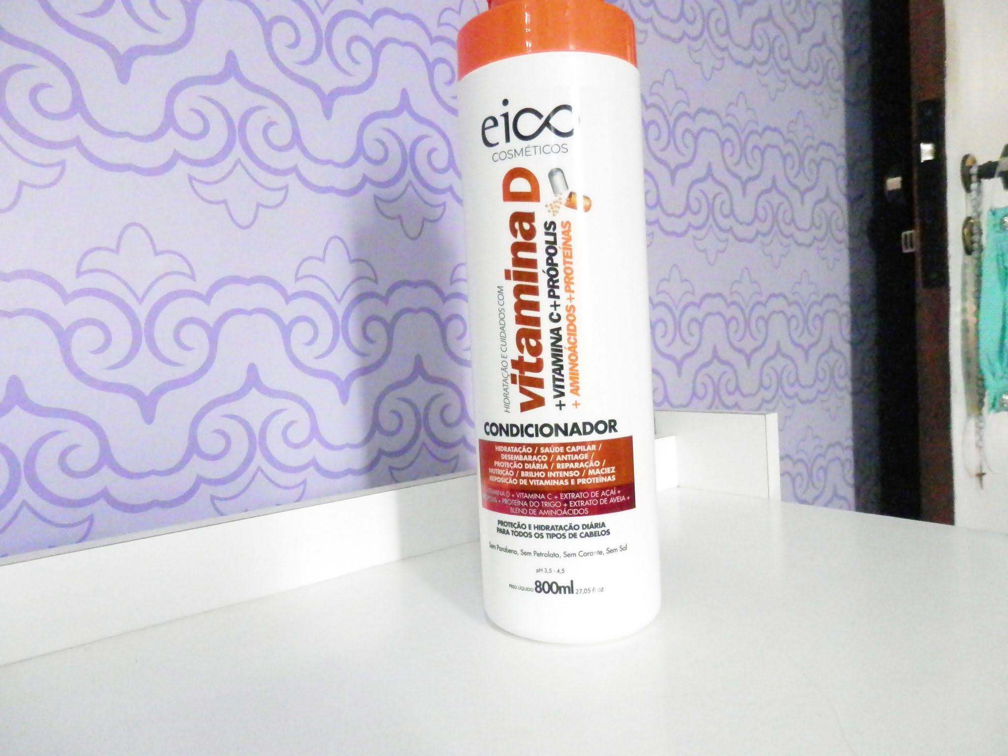 Resenha linha EICO Vitamina D + Vitamina C, própolis, aminoácidos e proteínas