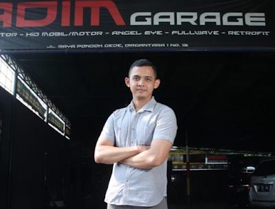 Hamdi Admin Garage, Sukses Bisnis Lampu Kendaraan