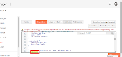 Cara Membuat Post View Counter Di Blog