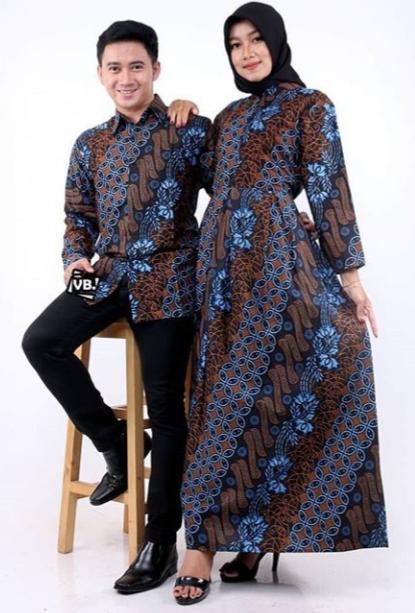 Model Gamis Batik Modern Terbaik 2021 Model Baju Terbaru