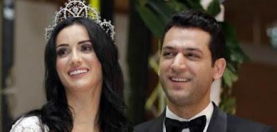 المغربية إيمان الباني تفقد جنينها من جديد وزوجها يساندها