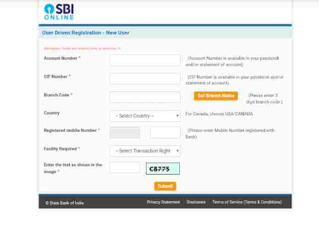 sbi net banking in hindi