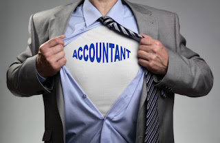 accountant is the super hero