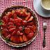 #123 Tarta z truskawkami i karmelem z nutą cynamonu
