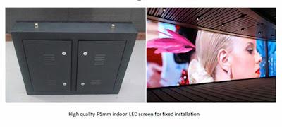 Thiết kế thi công màn hình led p5 giá rẻ tại quận 7