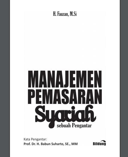 Buku Manajemen Pemasaran Syariah (Download PDF Gratis !!!!)