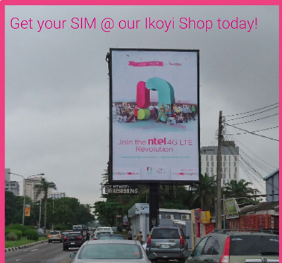 Ntel sim pick up zone in lagos nigeria