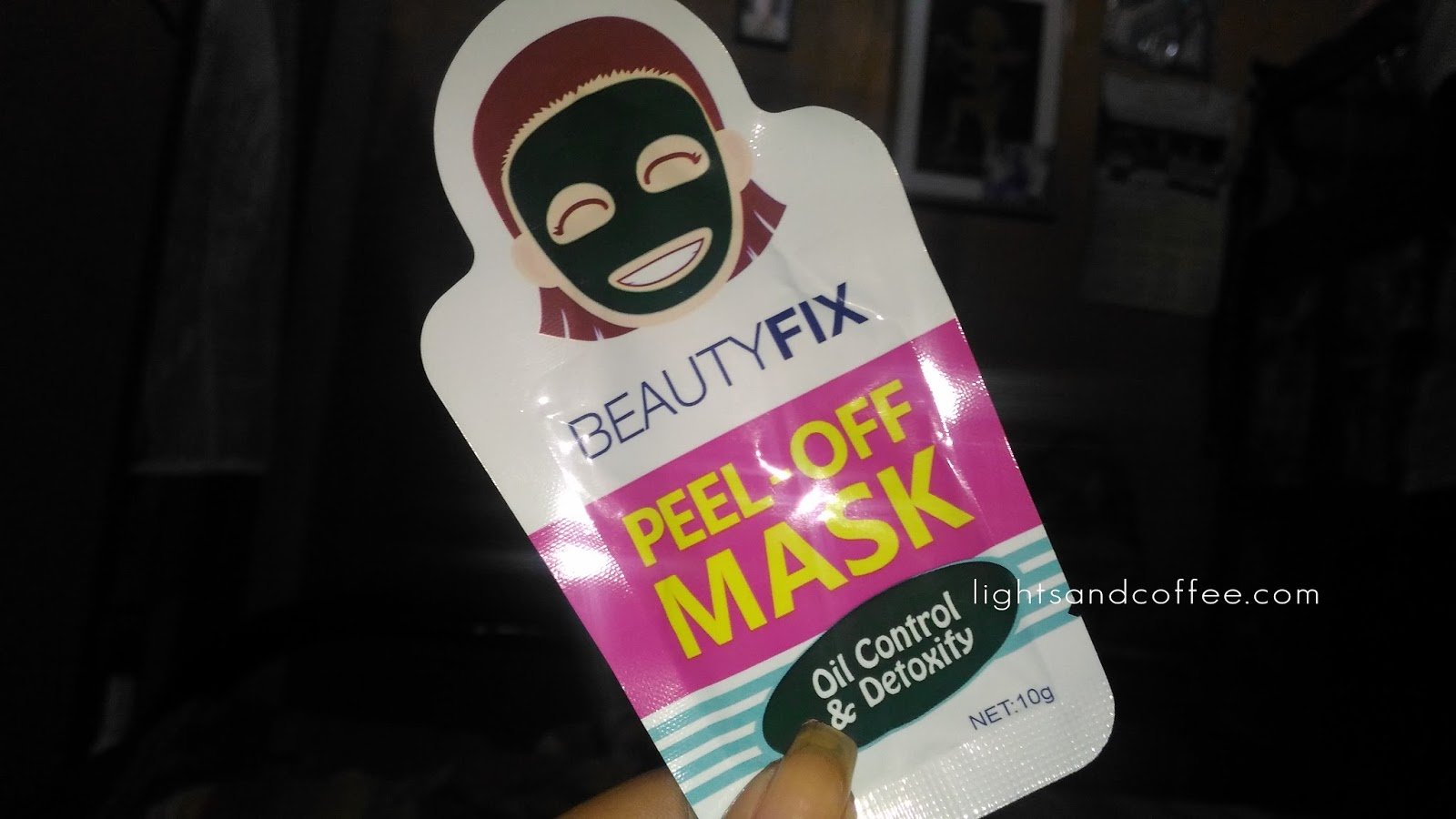Peel Off Mask Sachet