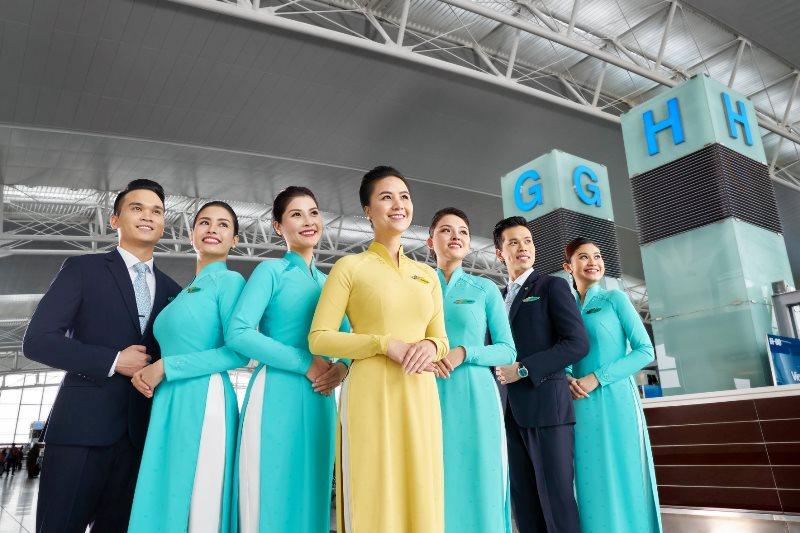 Mẫu đồng phục tiếp viên Việt Nam Airlines