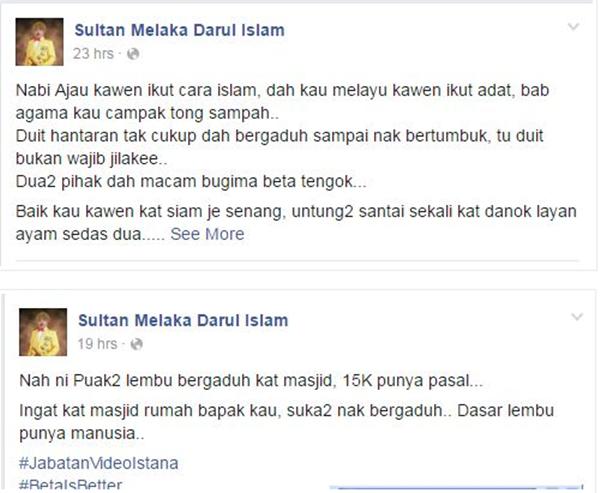 Lagi Isu Hantaran 15k... Kali Ini Sultan Pula Campur Tangan Buat Semua TERDIAM !!!