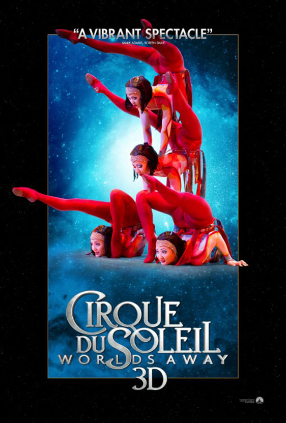 Cirque Du Soleil Worlds Away (2012) Dual Audio 300MB BluRay 480p ESubs