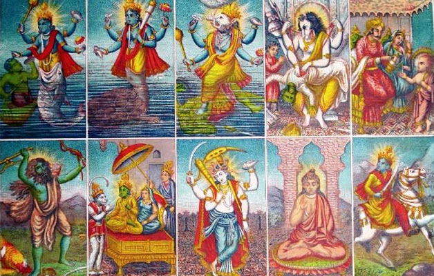 Ten Avatars Of Vishnu, Dasavatharam, Vishnu Vamana avatar