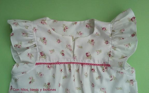Con hilos, lanas y botones - Blusa revoltosa
