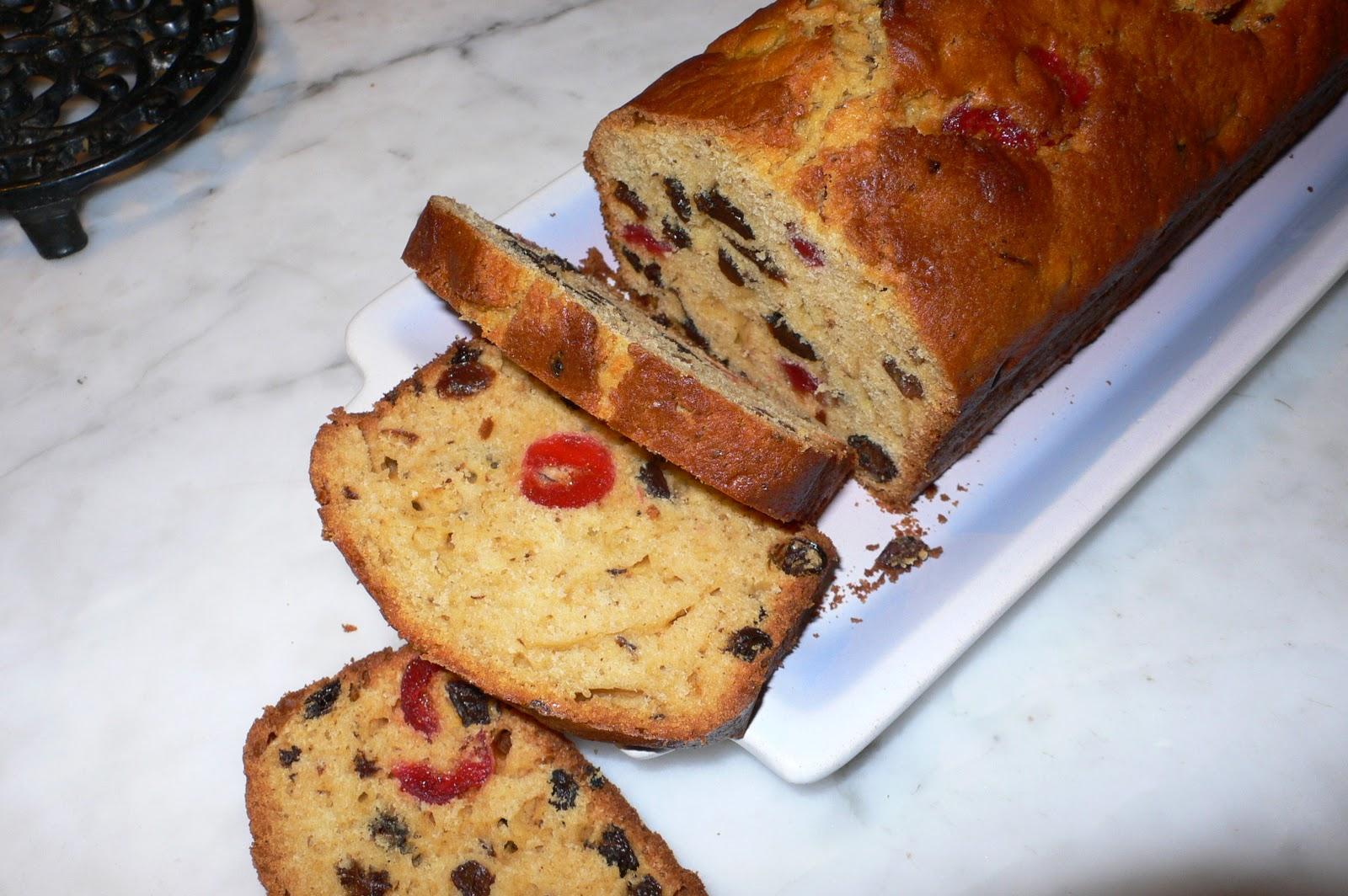 Cake Raisin Et Fruits Confits