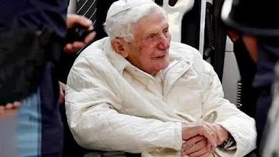 imagem do Papa Emérito Bento XVI
