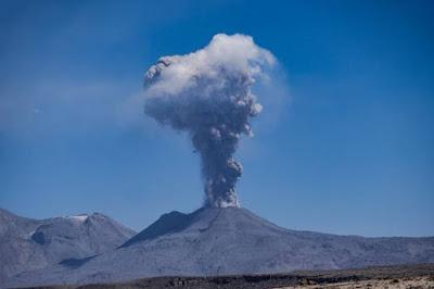 Tenaga Endogen, Gunung Meletus, Vulkanisme