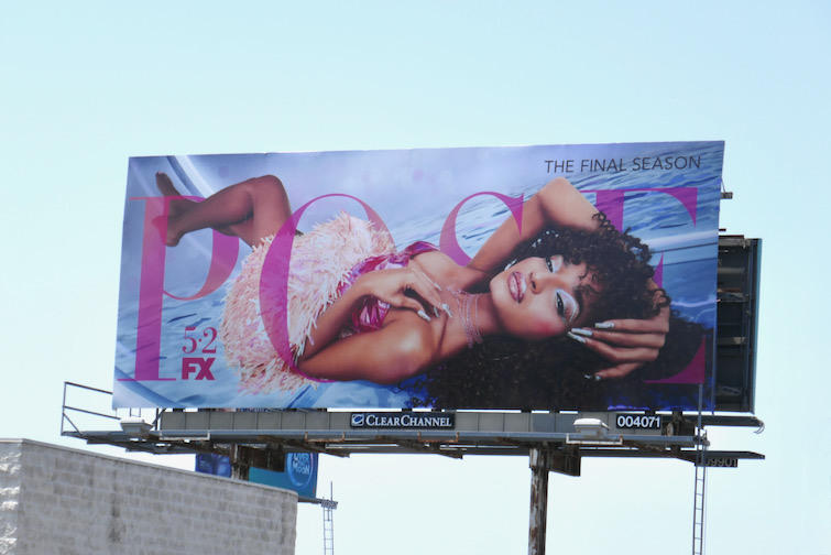 Indya Moore Pose final season billboard
