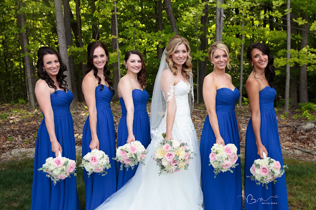 bridesmaids at Noah's Event Venue in Auburn Hills Michigan