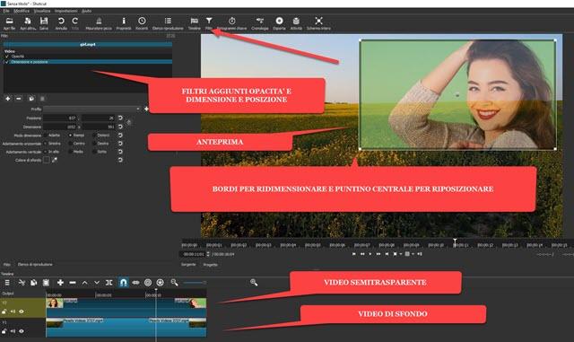 applicare filtri ai video con shotcut