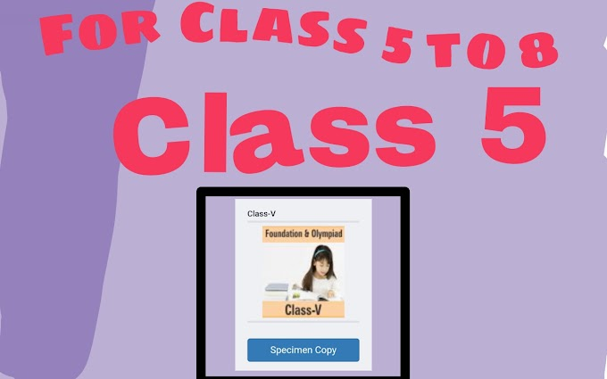 Class 5 To 8 Module For CBSE School Download Pdf