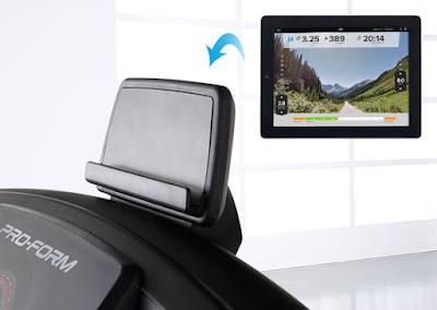Proform 400i - Integrated Tablet Holder