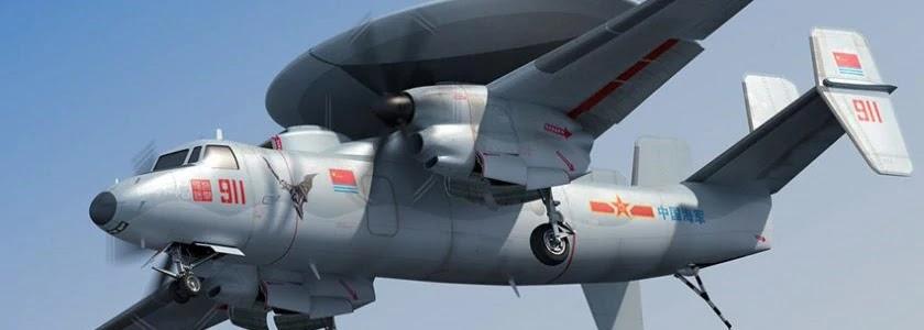 Китай випробовує літаючий радар на основі Ан-24