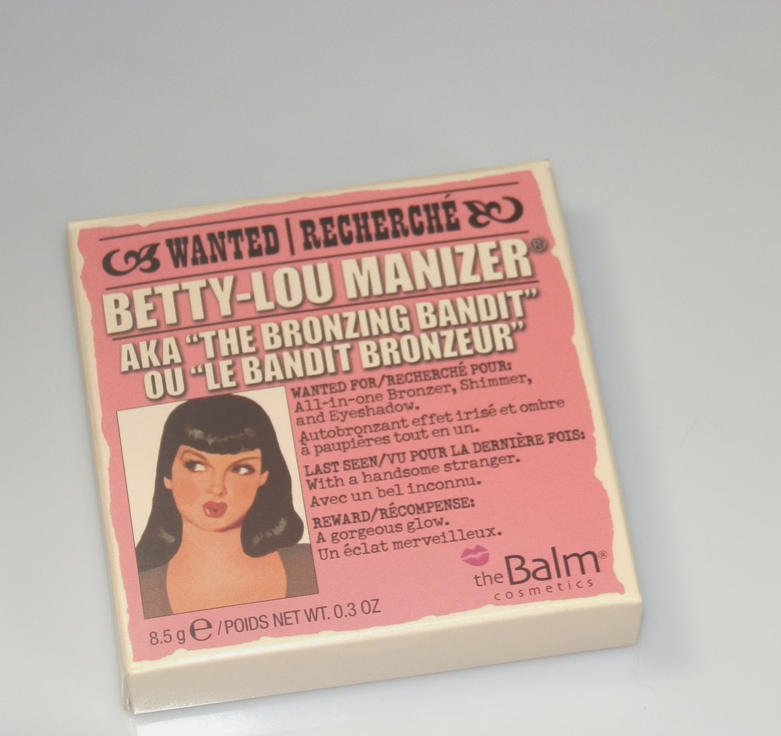 The Balm Betty Lou Manizer Swatches