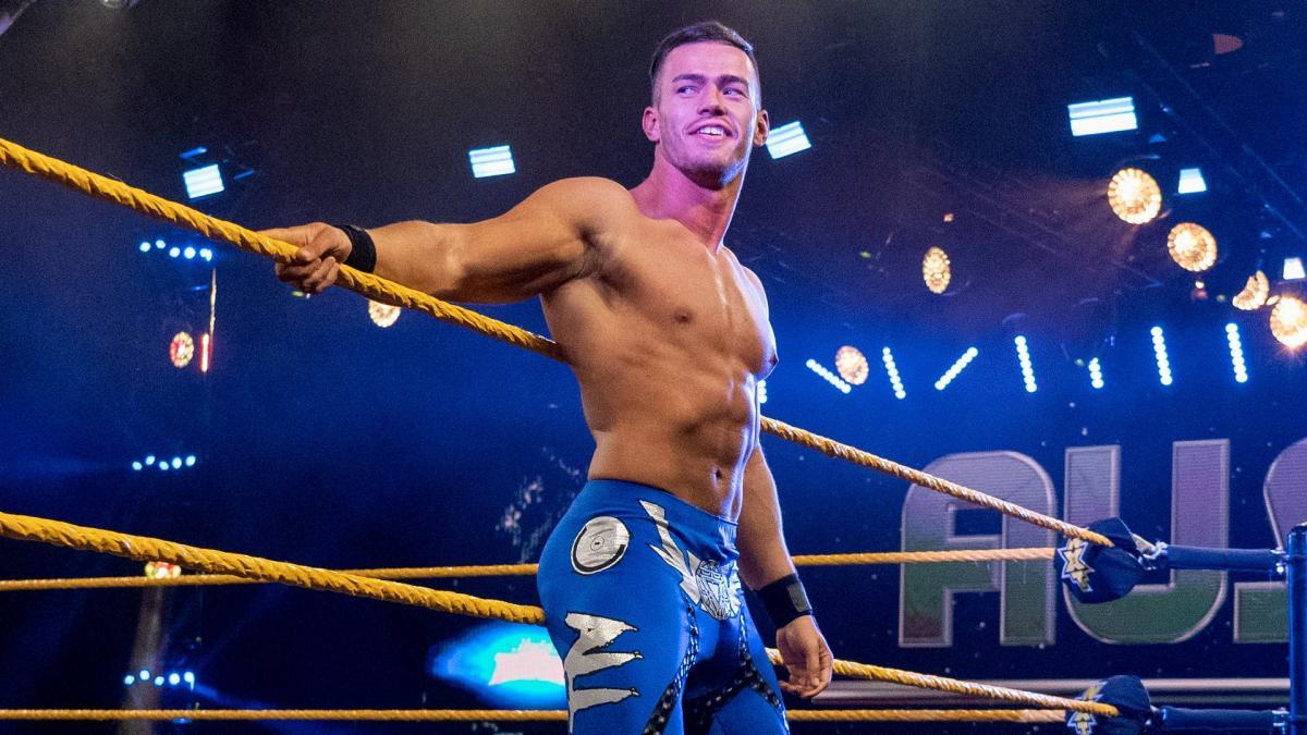 Austin Theory é transferido para o WWE NXT de forma oficial