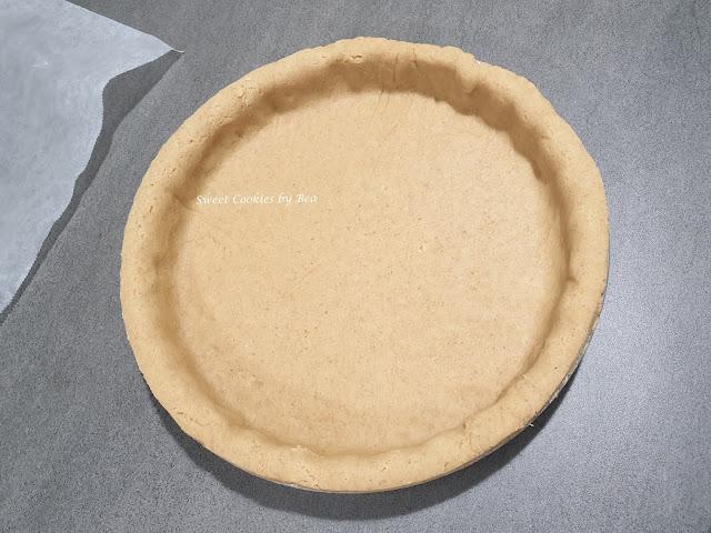 Pastel de calabaza con base de galleta