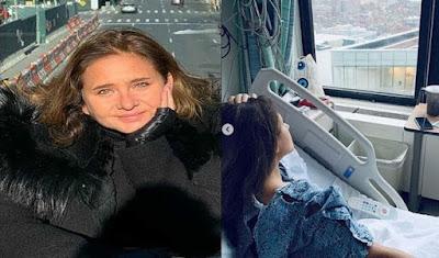 """سر إجراء """"نيللي كريم"""" عملية جراحية فى الولايات المتحدة الامريكية استأصلت ورما حميدا بجوار عصب الوجه الأساسى"""