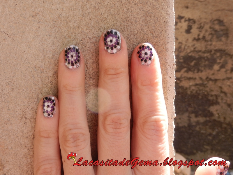 La Casita De Gema Tutorial Uñas Decoradas Nail Art En Vídeo Nº30