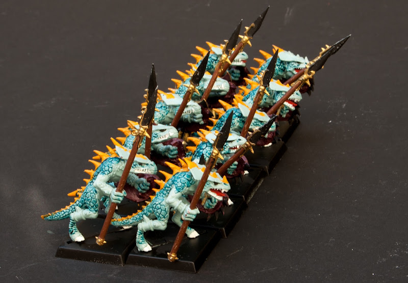 Saurus Warriors with Spears