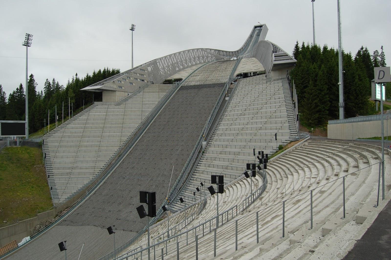 skoki narciarskie, Holmenkollen Oslo Norwegia