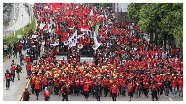Selain Demo Besar ke DPR, Buruh Siap Geruduk MK saat Gugat UU Ciptaker